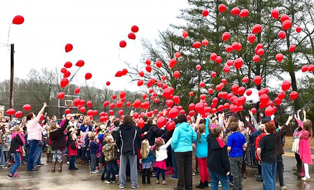 Wheeler red balloons