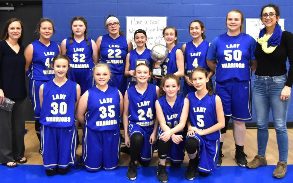 Lady Warriors SVC runner up